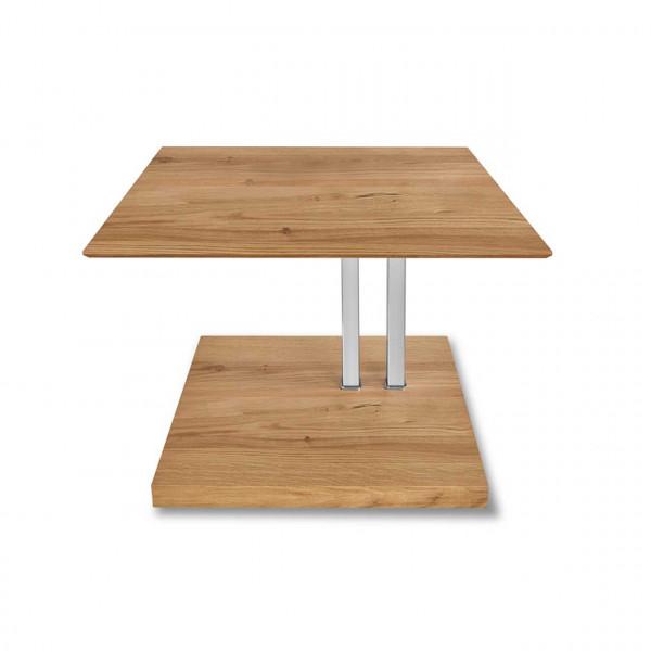 Ronald Schmitt – Beistelltisch Doppio K 925 | Tischplatte und Sockel WIldeiche Natur